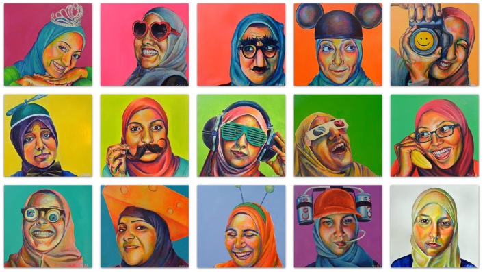 Portraits of American Muslim Women: Image Linked to Source